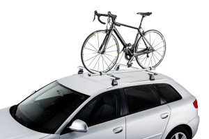 Roof bike carrier