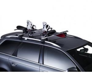 Roof bike carrier