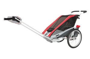 thule chariot cougar1 red hike